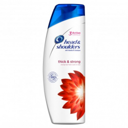 HEAD SHOULDERS THICK STRONG SZAMPON DO WŁOSÓW 400ML
