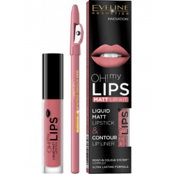 EVELINE POMADKA W PŁYNIE DO UST OH! MY LIPS 07 4ML