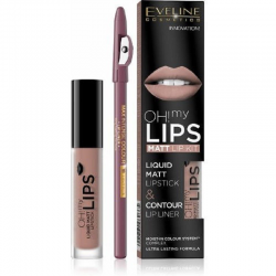 EVELINE POMADKA W PŁYNIE DO UST OH! MY LIPS 08 4ML