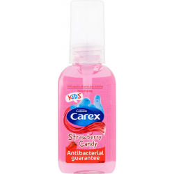 CAREX ŻEL DO RĄK ANTYBAKTERYJNY 50ML STRAWBERRY