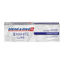 BLEND-A-MED PASTA DO ZĘBÓW 3D WHITE LUX PERFECTION 75ML