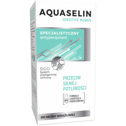 AA AQUASELIN ANTYPERSPIRANT ROLLON WOMEN 50ML SENSITIVE