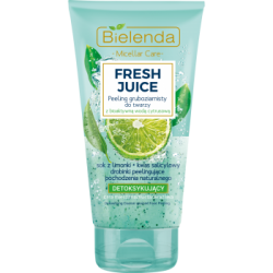 BIELENDA FRESH JUICE PEELING DO TWARZY GRUBOZIARNISTY LIMONKA 150G
