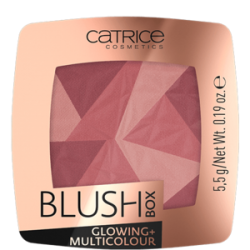 CATRICE RÓŻ BLUSH BOX GLOWING+MULTICOLOR 020