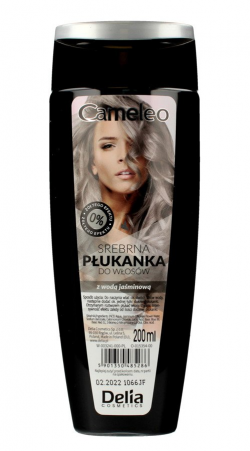DELIA CAMELEO Płukanka do wł srebrna 200ml New &