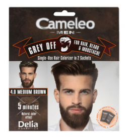 DELIA CAMELEO MEN GREY OFF 4.0 MEDIUM BRO FARBA/WŁ