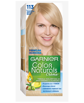 COLOR NATURALS FARBA DO WŁOSÓW 113 SUPER BEŻOWY BLOND