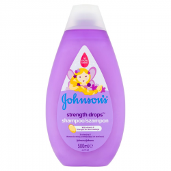 JOHNSONS BABY SZAMPON STRENGHT DROPS 500ML