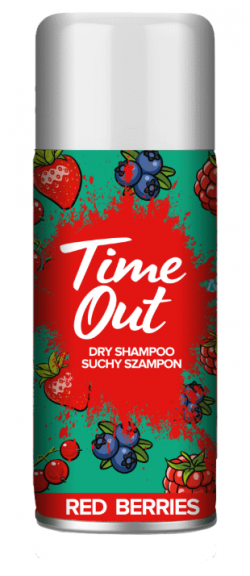 TIME OUT SUCHY SZ/WŁ 75ML RED BERR