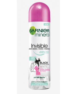 GARNIER ANTYPERSPIRANT SPRAY WOMEN 150 ML INVISIBLE BWC FRESH