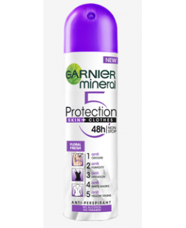 GARNIER ANTYPERSPIRANT SPRAY WOMEN 150ML PROTECT5 FLORAL