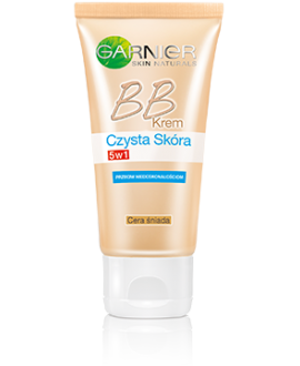 GARNIER. CZYS.S BB KR.50ML ŚNIADY