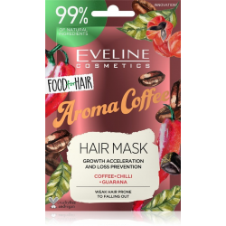 EVELINE FOOD FOR HAIR MASKA DO WŁOSÓW COFFEE 20ml