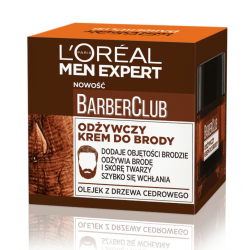 LOR DERMO MEN Barber Club Krem d/brody