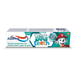 AQUAFRESHPAS.ZĘB. 50ML KIDS 6+ PP