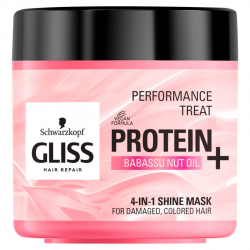GLISS KUR MASKA DO WŁOSÓW PROTEIN SHINE 4W1 400ml