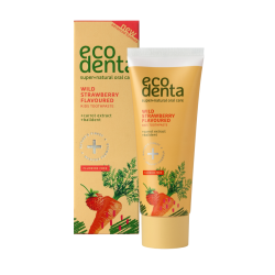 ECODENTA PAS.ZÊB. 75ML KIDS POZIOMKA