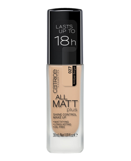 CATRICE PODKŁAD DO TWARZY ALL MATT PLUS SHINE CONTROL MAKE UP 027