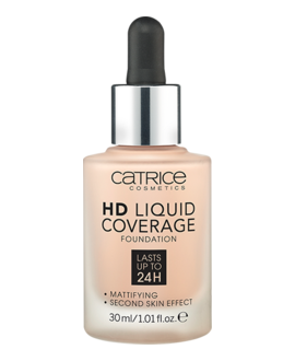 CATRICE PODKŁAD DO TWARZY HD LIQUID COVERAGE FOUNDATION 010