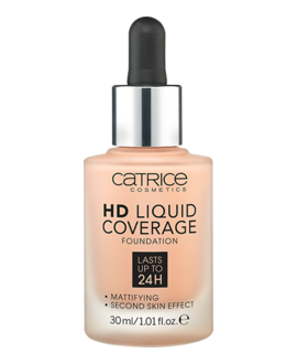 CATRICE PODKŁAD DO TWARZY HD LIQUID COVERAGE FOUNDATION 020