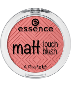 Essence matowy róż matt touch blush 10