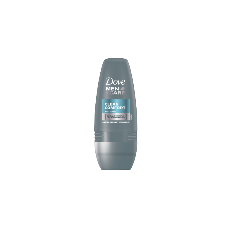 DOVE DEO R-ON 50ML M CLEAN %