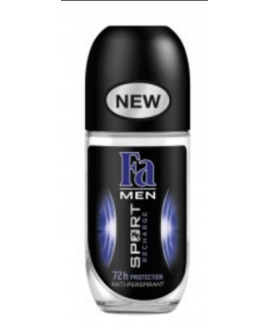 FA ANTYPERSPIRANT W KULCE ROLLON MEN 50ML RECHARGE