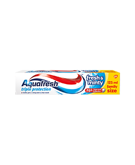AQUAFRESHPAS.ZĘB.125ML FR&MINT