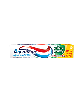 AQUAFRESHPAS.ZĘB.125ML MILD&MINTY