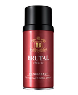 BRUTAL   CLASSIC DEO SPR 150ML