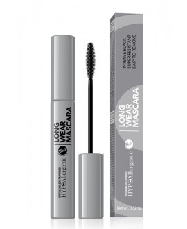 BELL HYPOALERGICZNY TUSZ DO RZĘS ZMYWALNY WODĄ LONG WEAR MASCARA 01