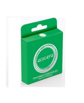 ECOCERA PUDER MATTE RYŻOWY 10G
