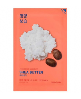 HOLIKA HOLIKA MASK SHEET SHEA BUTTER PURE ESSENCE MASKA DO TWARZY NA PŁACHCIE