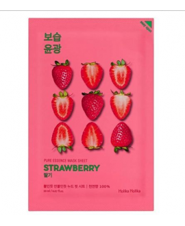HOLIKA HOLIKA STRAWBERRY MASK MASKA DO TWARZY NA PŁACHCIE