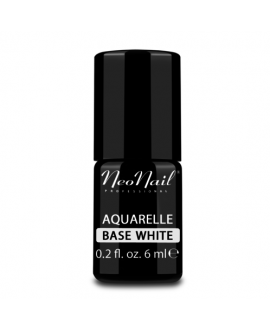 NEONAIL LAKIER HYBRYDOWY UV AQUARELLE BASE WHITE 6ML