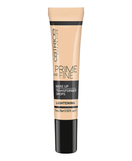 CATRICE KROPELKI ROZJAŚNIAJĄCE PRIME AND FINE MAKE UP TRANSFORMER DROPS