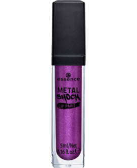 ESSENCE BŁYSZCZYK METAL SHOCK LIP PAINT