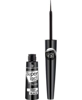 ESSENCE EYELINER SUPERLAST DEEP BLACK