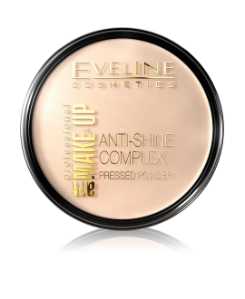 EVELINE PROFESSIONAL ART MAKE-UP MATUJĄCY PUDER MINERALNY Z JEDWABIEM 33-GOLDEN SAND