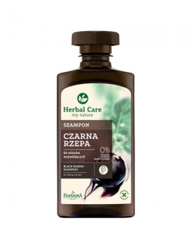 HERBAL C SZ/WŁ 330ML CZARNA RZEPA