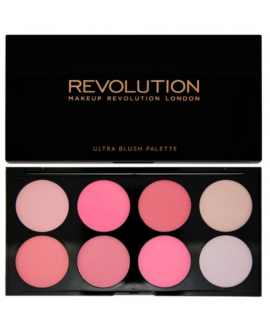 REVOLUTION RÓŻ. PALETTE BLUSH&CONTOUR ALL PINK