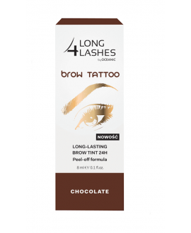 LONG 4 LASHES BROW TATOO LONG LASTING BROW TINT 24H CHOCOLATE 8 ML.