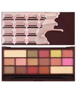REVOLUTION I HEART MAKEUP CIEN CHOCOLATE ROSE GOLD