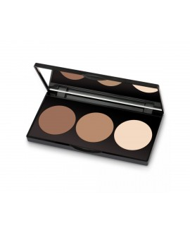 GOLDEN ROSE CONTOUR POWDER KIT PALETKA DO KONTUROWANIA TWARZY