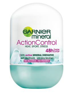 GARNIER DEO W R-ON 50ML ACTION CONT
