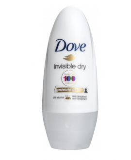 DOVE DEO R-ON 50ML W INVISIBLE$%
