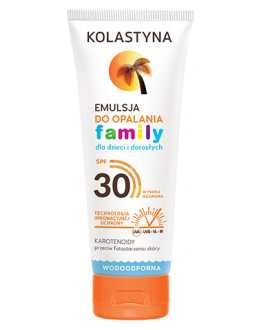 KOLASTYNA SUN EMULSJA DO OPALANIA FAMILY SPF 30 250ml