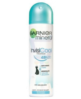 GARNIER MINERAL INVISICOOL ANTYPERSPIRANT SPRAY 150ml
