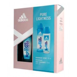 ADIDAS ZESTAW PURE LIGHTNESS DEZODORANT 150ml+ NATURAL SPRAY 75ml