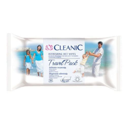 CLEANIC CHUS.ODSWIE.ANTIBACTERIAL TRAVEL 40
